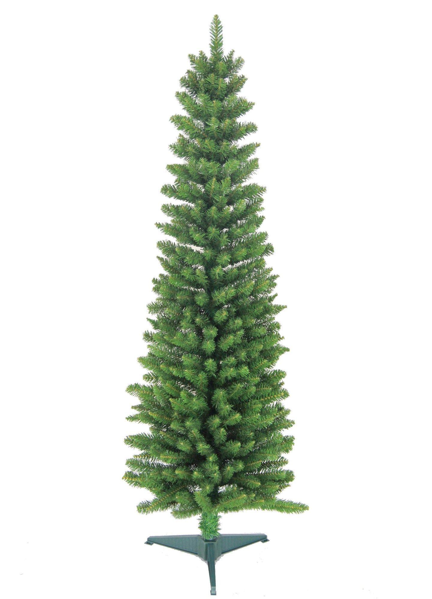 6 Green Pencil Artificial Christmas Tree