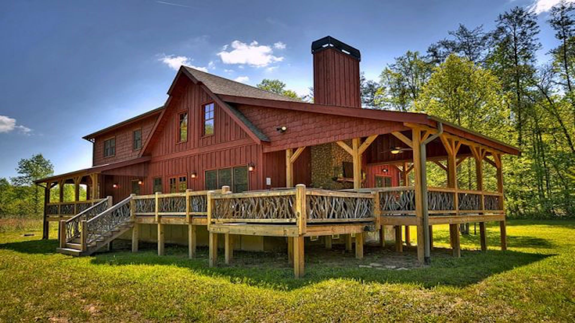 above the photos ridge for clouds blue exterior rent gallery ga view mountain rental cabins cabin