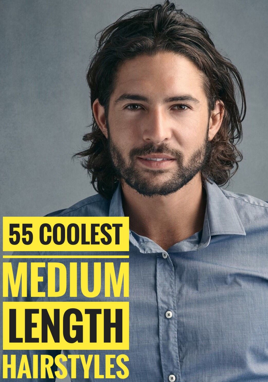 55 medium length hairstyles for men styling tips