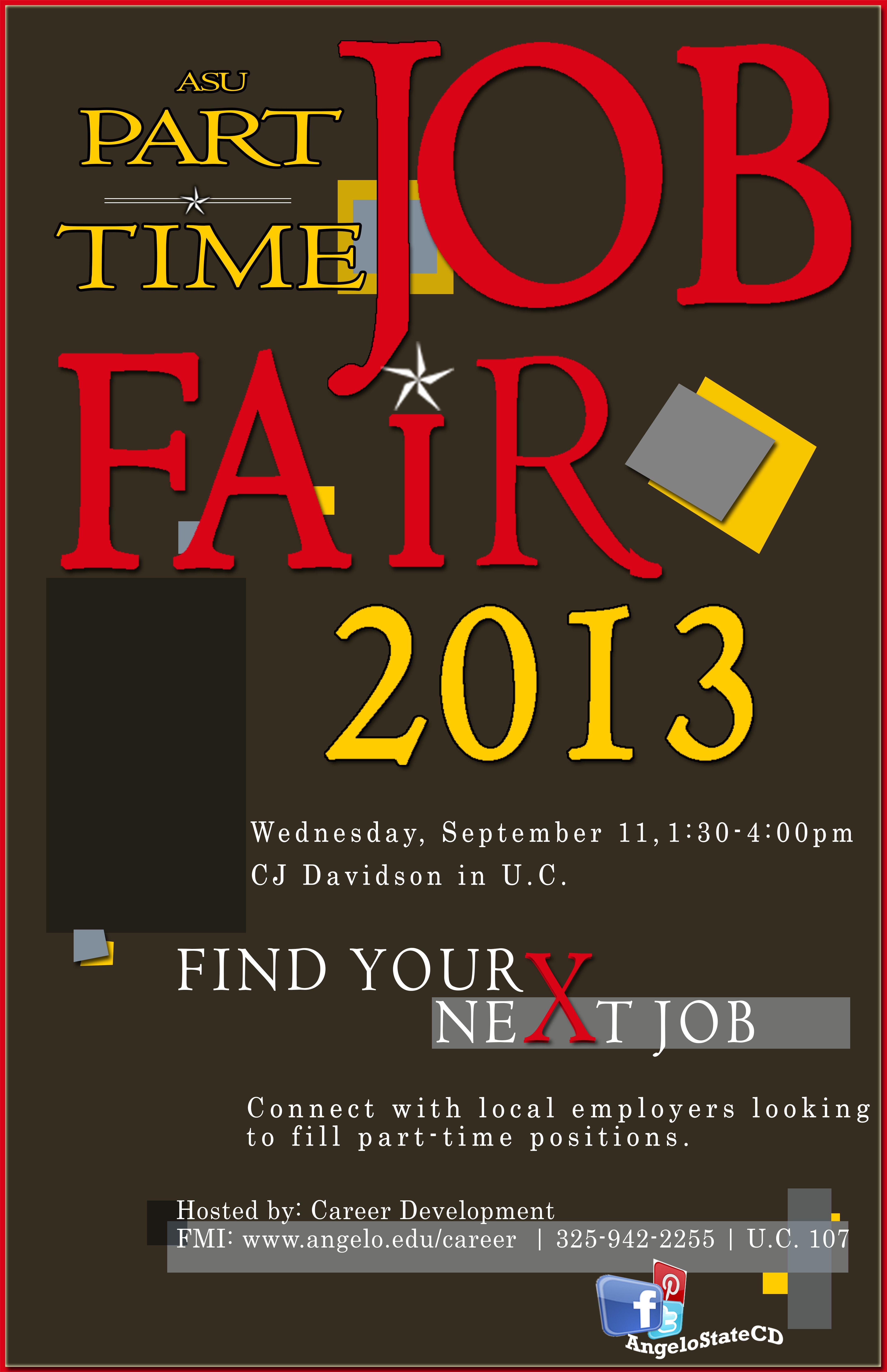 teacher job fair career development flyer teacher part time job fair