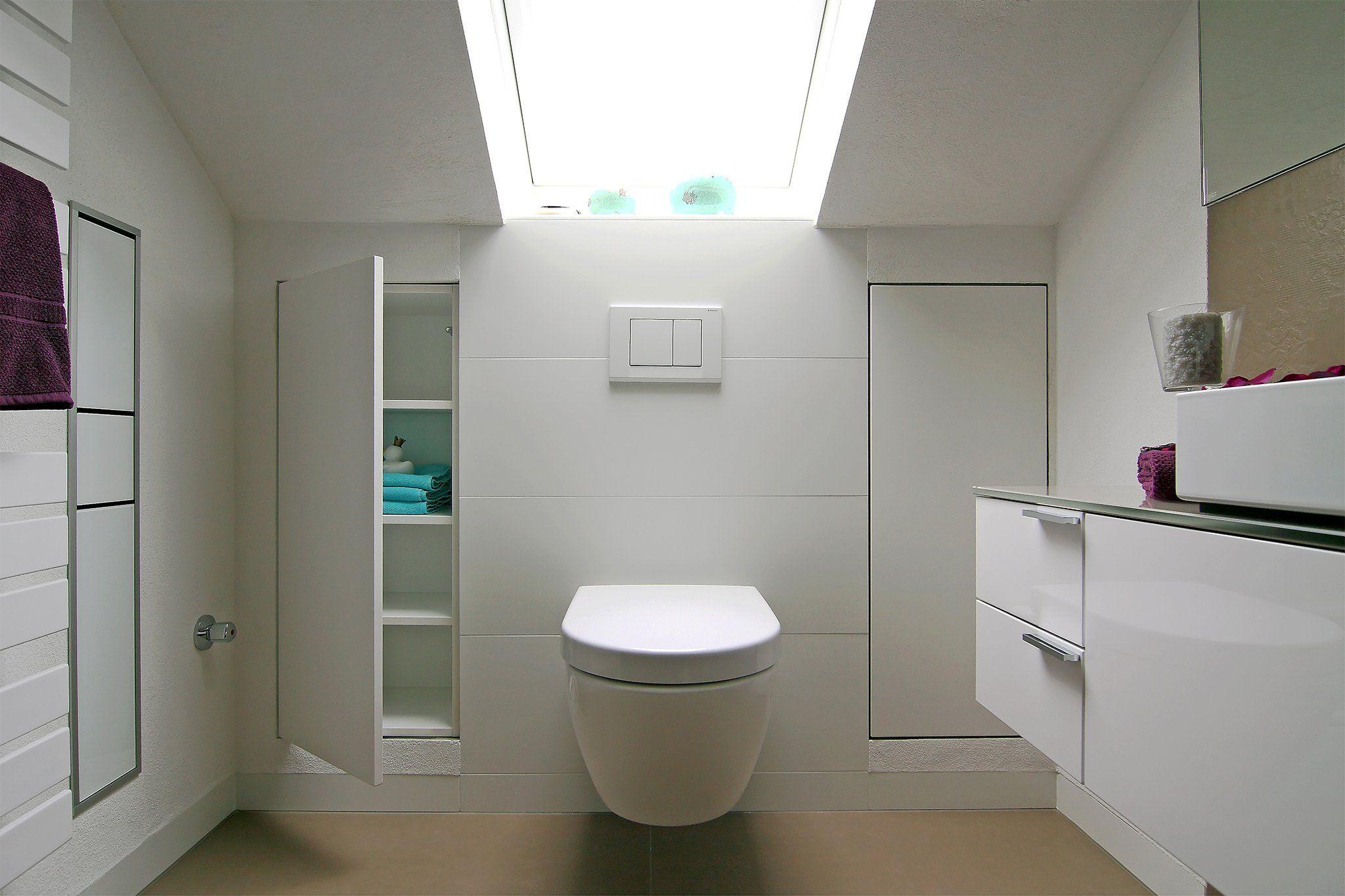 Badezimmer   Badezimmer dachschräge, Badezimmer schrank ...