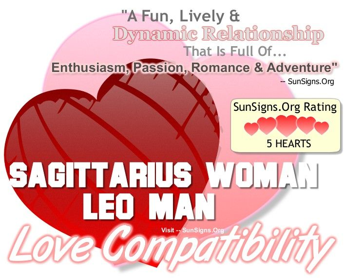 What signs are compatible with leo male