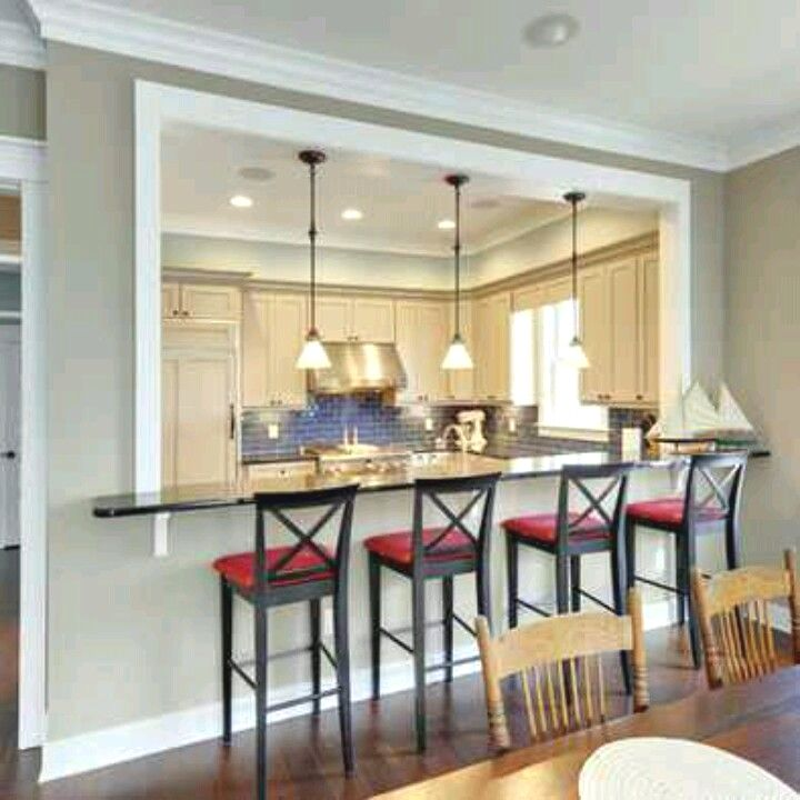 Kitchen Open Wall Between Kitchen And Dining Room Can Add