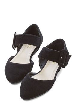 Gait a Second Flat in Black - ModCloth