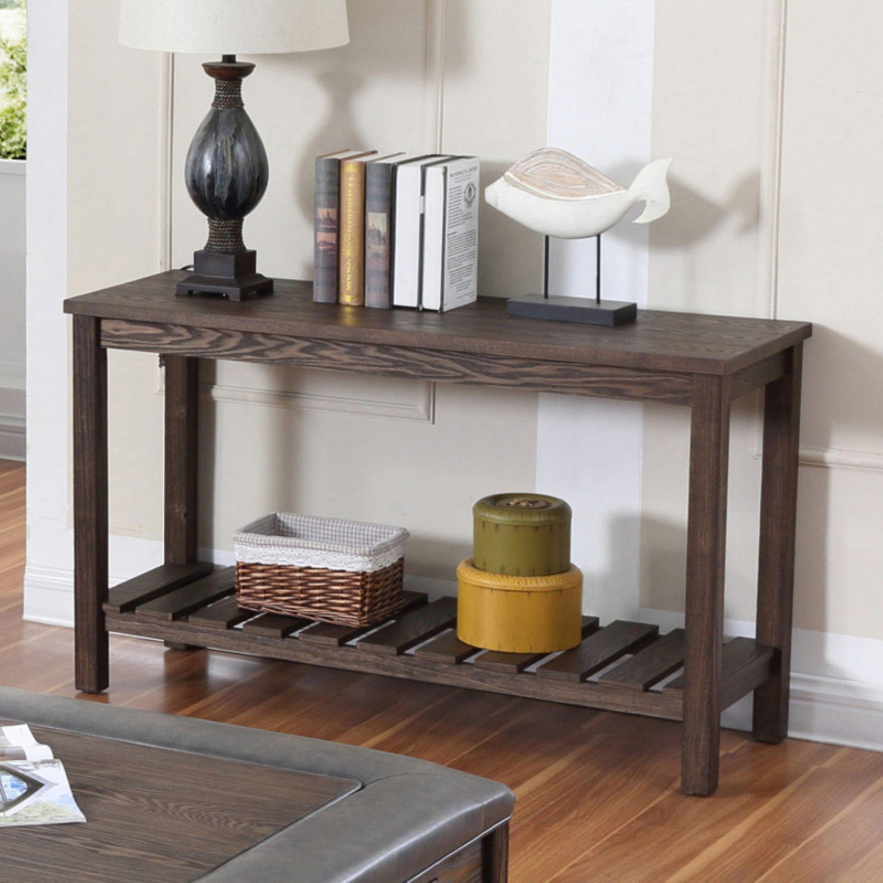 Emerald Home Wood Haven Sofa Table T80502 Sofa table