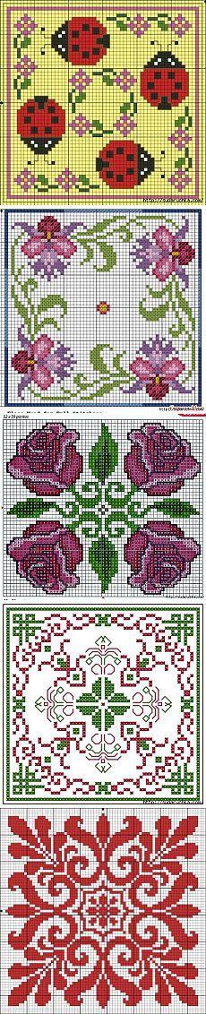 Biskornyu - schemes for cross stitch.
