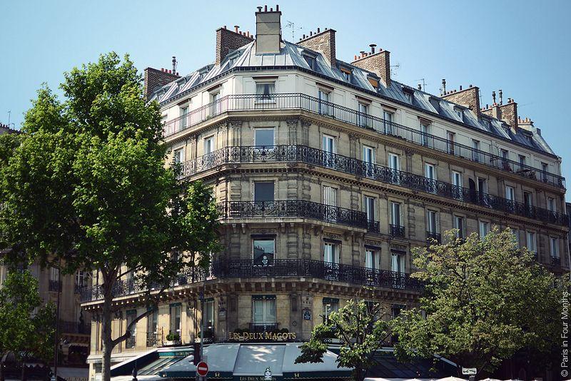 Balcony Envy in Paris by Paris in Four Months