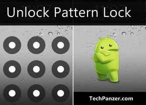 how to unlock pattern lock on android phone, reset android pattern