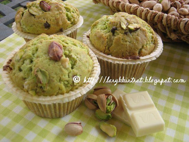 Muffin Pistacchio e Cioccolato bianco