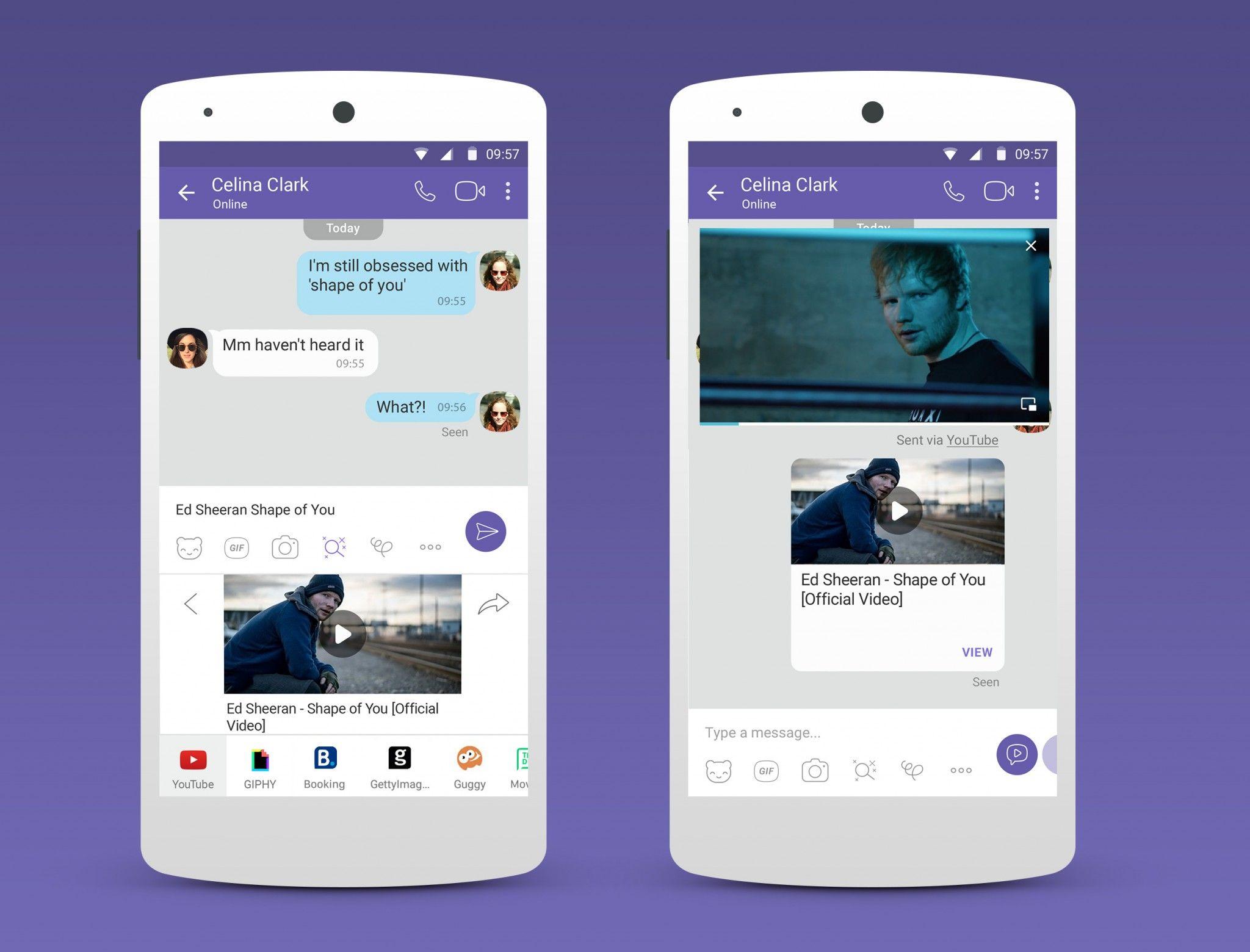 Messaging App Viber Overhauls Third Party Chat Extensions In Latest Update Messaging App Ict App