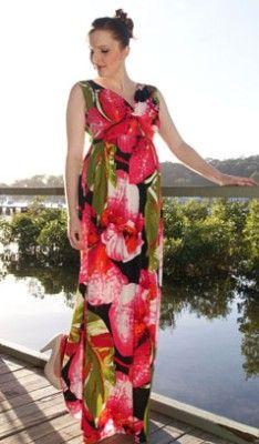 618d636638fe2 hawaiian maternity dress - Google Search | Hawaiian Wear for Wedding ...