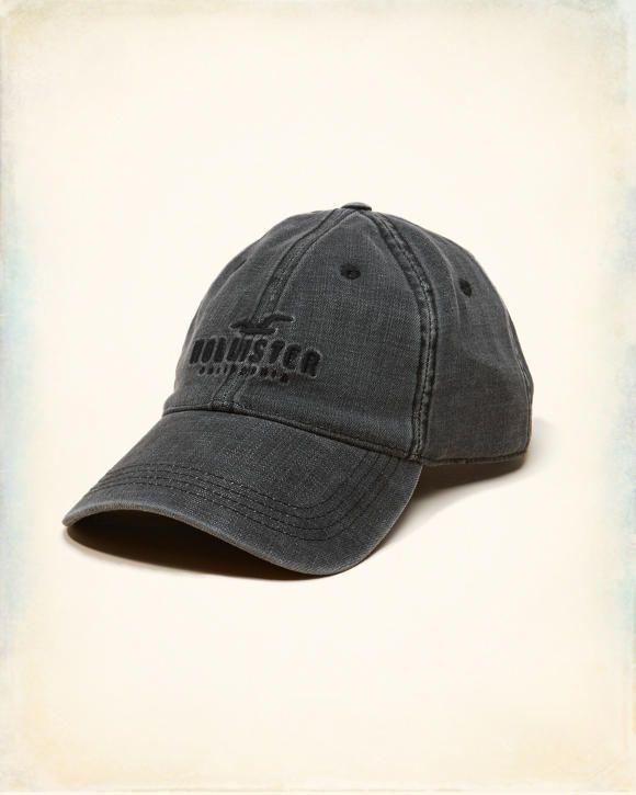 e4c4b34071c8 Hollister Logo Denim Dad Hat | Men's Hats in 2019 | Dad hats, Hats ...