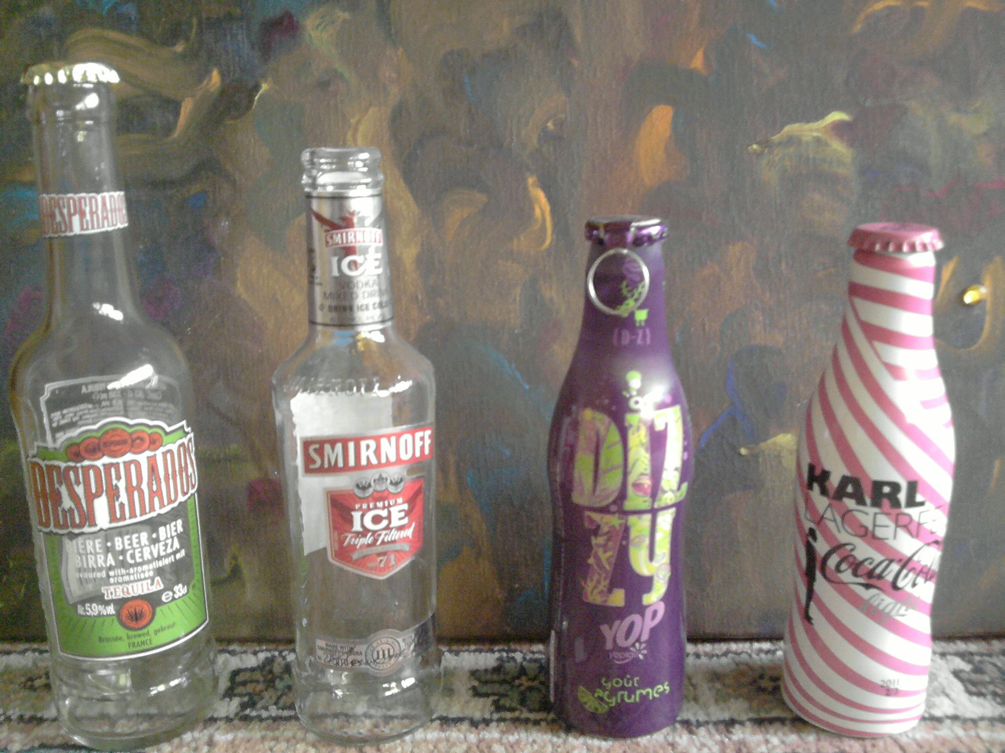 Farandole bouteilles