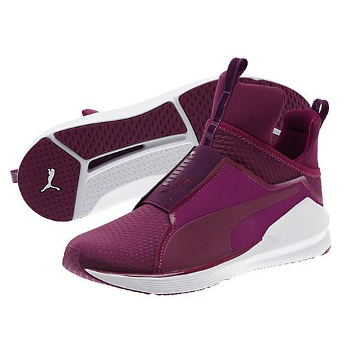 04837fb782e2b1 Puma Magenta Purple Fierce Quilted Women s Training Shoes via   bestchicfashion