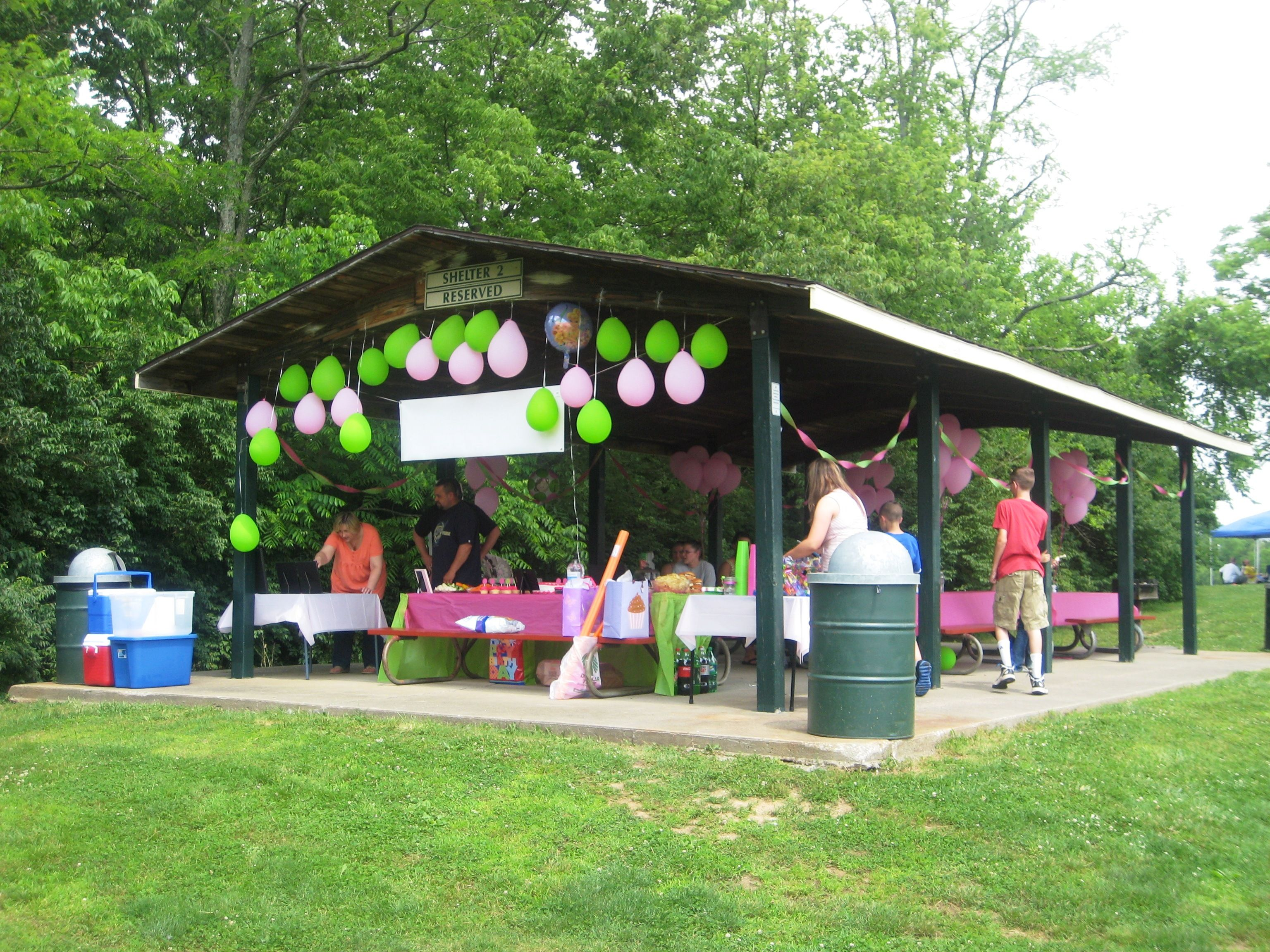 Rent A Shelter At Your Local Park For Your Childs Birthday Easy