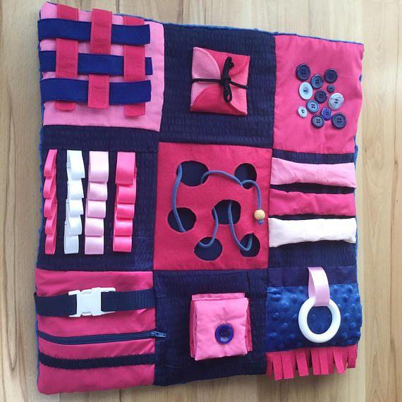 Custom Sensory Lap Blanket Selbstgemachtes F 252 R Kinder