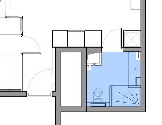 am nagement petite salle de bains 28 plans pour une petite salle de bains de 5m. Black Bedroom Furniture Sets. Home Design Ideas