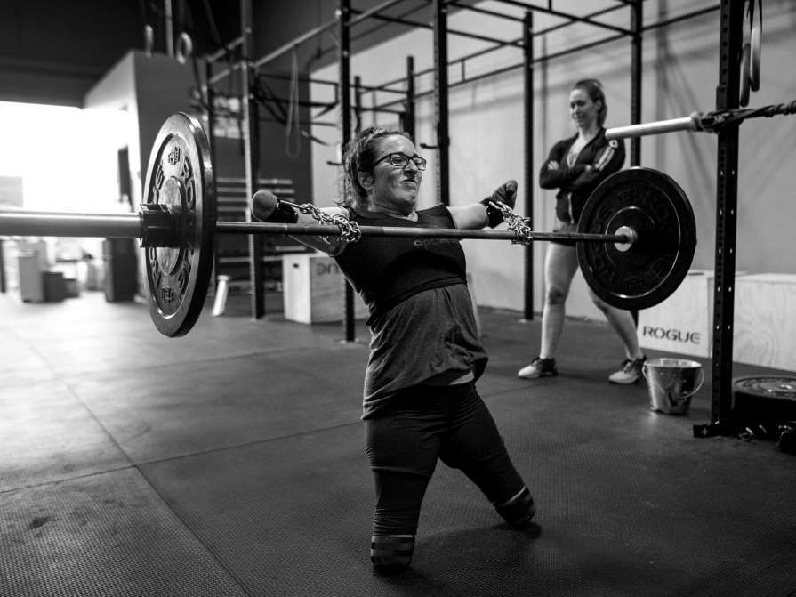 Lindsay Hilton from Nova Scotia, Canada, was born without arms and legs. She can lift 100 pounds wit... - Darren Calabrese