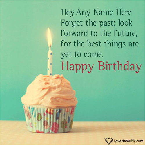 Create Beautiful Cupcake Birthday Wishes Quotes Online And Send Your Best Wishes To Your Friend