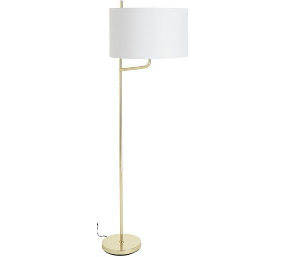 Buy heart of house blaina floor lamp brass at argos co uk