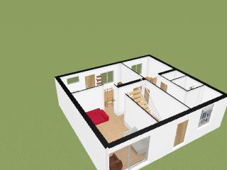 Plans 3D   Kaza De Mamyfanfan Par Mamyfanfan Sur Kozikaza
