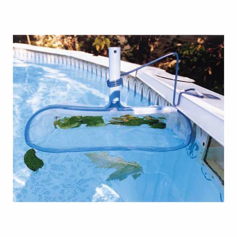 Skimz It Leaf Rake W Bracket For Above Ground Pools Pool