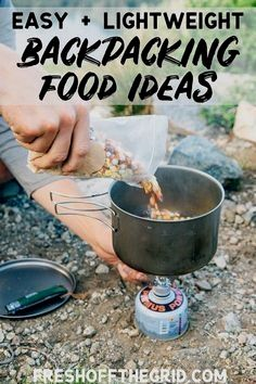 Photo of The Best Backpacking Food Ideas – Backpacking Breakfasts, Backpacking Lunch, Backpacking Meals – we