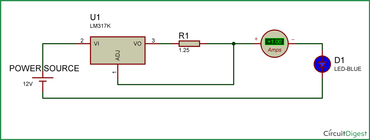 1w led driver circuit diagram electronic circuits circuit rh pinterest com