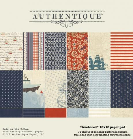 Anchored | Authentique Paper
