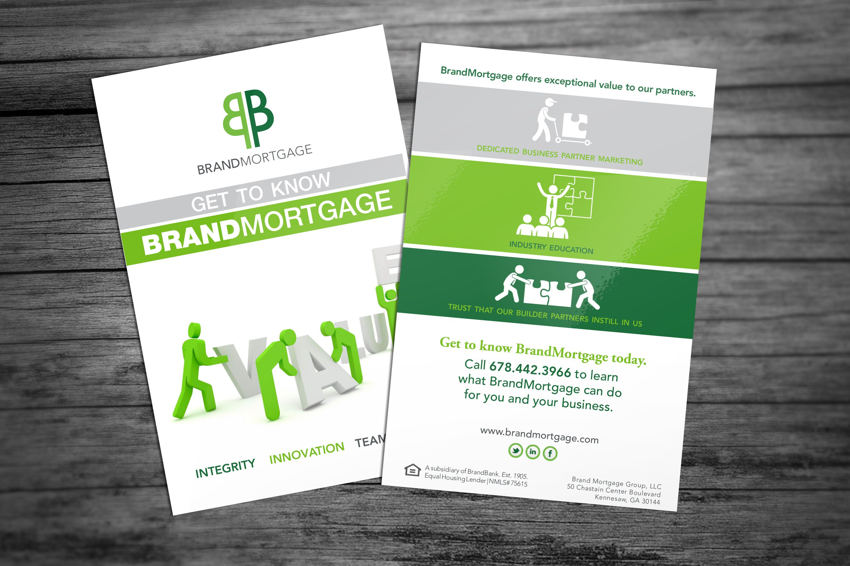 BrandMortgage drip campaign postcard design graphic design – Sample Marketing Brochure