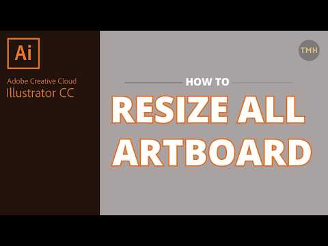 How To Change All Artboard Size In Adobe Illustrator Cc Youtube Adobe Illustrator Adobe Creative Cloud Illustration
