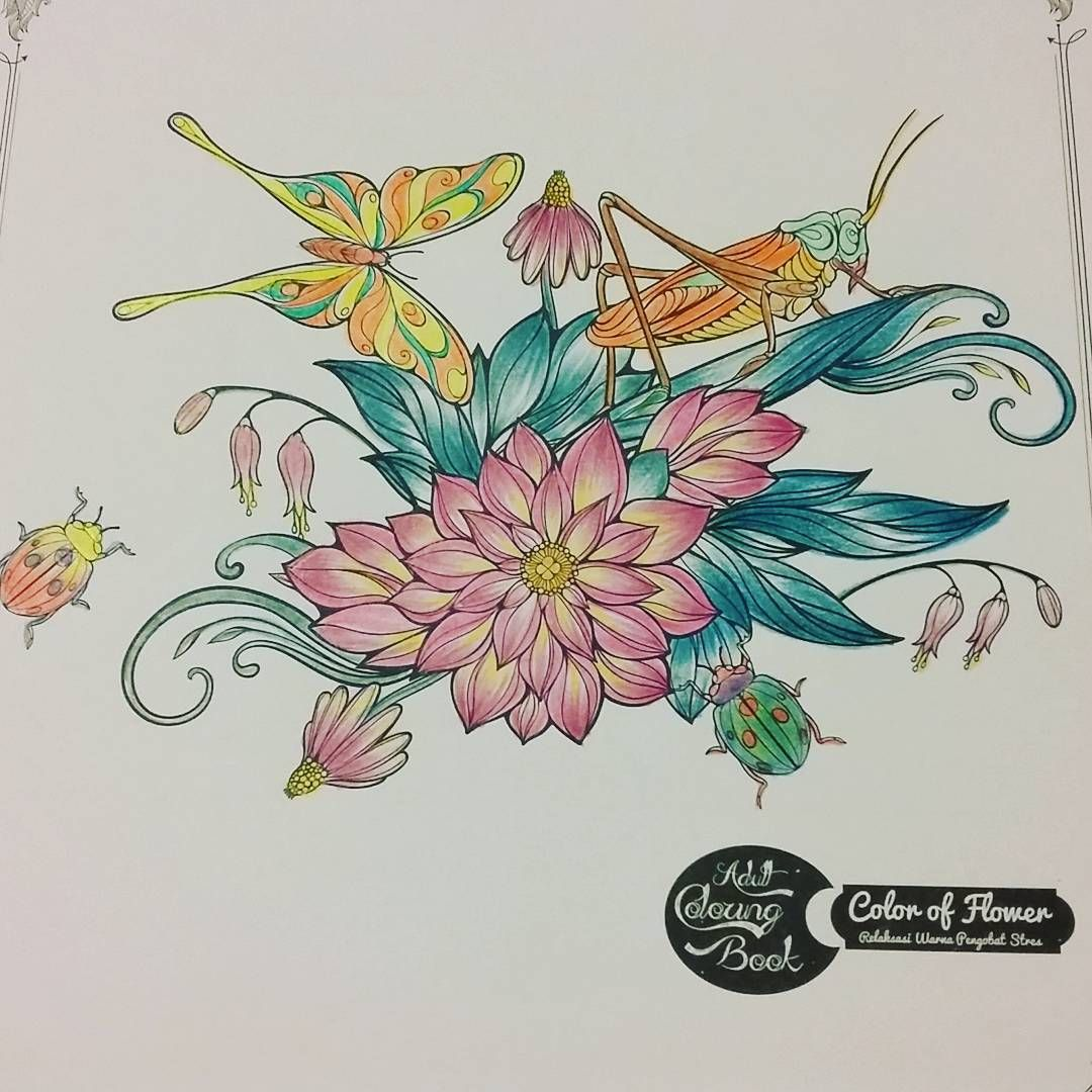 See Our Pages For Adult Coloring Addict From Indonesia Warna SecretgardenSecretgarden