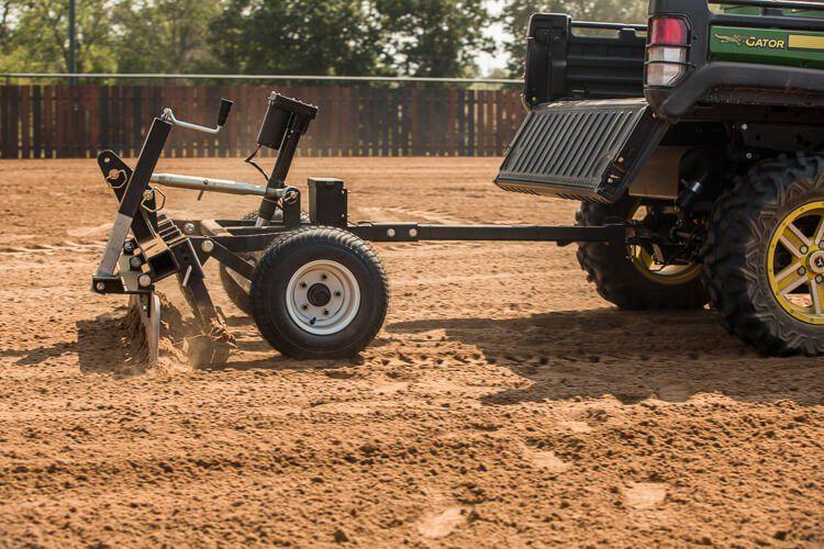 Atv Driveway Graders Gravel Rascal Abi Attachments Atv Sub Compact Tractors Tractor Implements