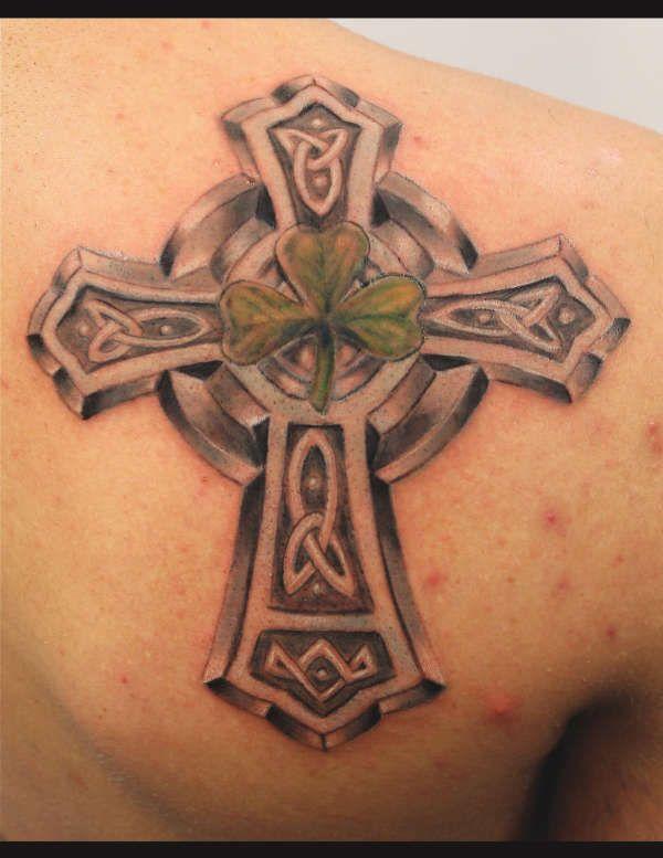 Celtic cross tattoos celtic cross tattoo party stuff for Pics of celtic cross tattoos