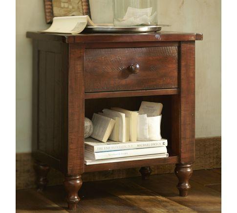 Ashby Dresser Rustic Bedside Table Furniture Bedside Table
