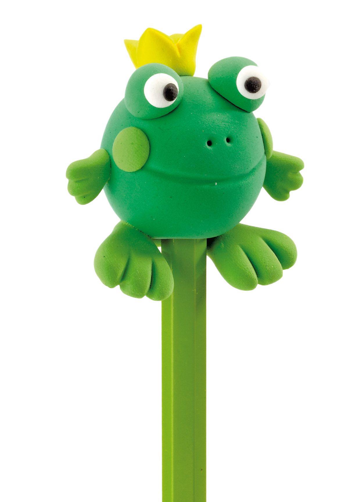 Une grenouille- tête de crayon, réalisée en Patarev | Bricolage ...