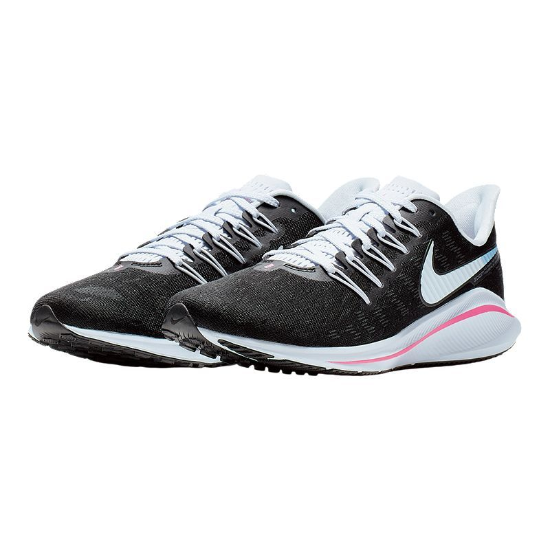 cheap for discount 50d53 4bf6f Nike Women s Air Zoom Vomero 14 Running Shoes - Black Pink