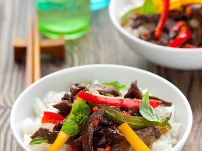 Photo of Chicken Stir Fry With Instant Rice-Chicken Stir Fry With Ins…