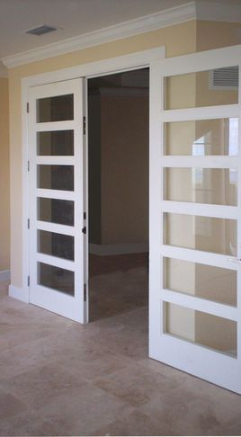 My Favorite Mid Century Modern Door Style Make The Glass Opaque And It S A Wonderful Front Door French Doors Interior Interior Doors For Sale Doors Interior