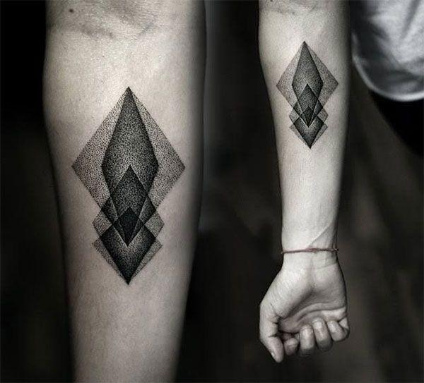 Makandaxu Tatuajes Geometricos Geometrizados Puntillismo Y
