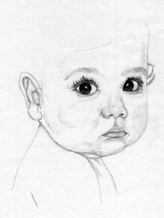 Face drawings pencil drawings baby faces eye babys lips drawing faces drawings in pencil babies