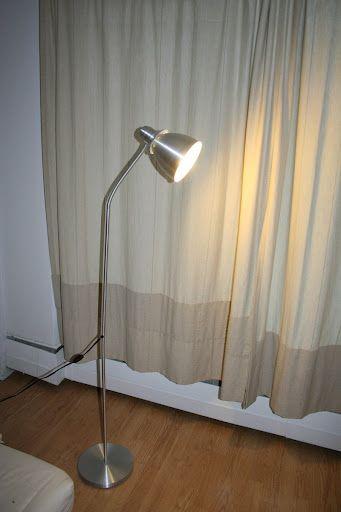 Lersta Reading Floor Lamp Aluminum Ikea Source
