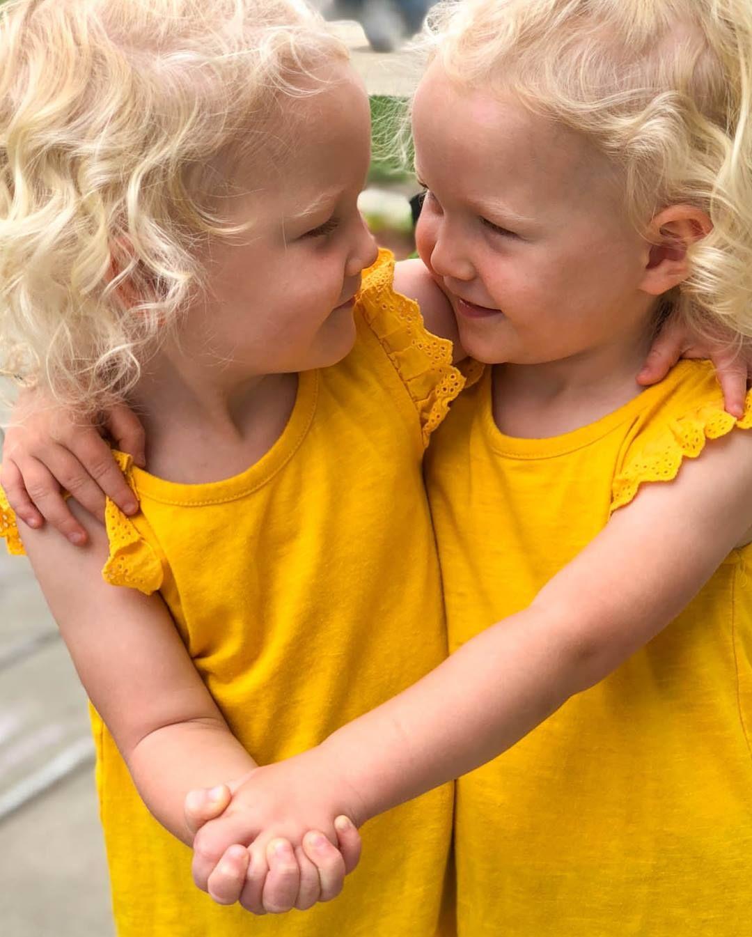 Twins Blonde Haired Twins Modi Twins Twin Sisters Twin Bond