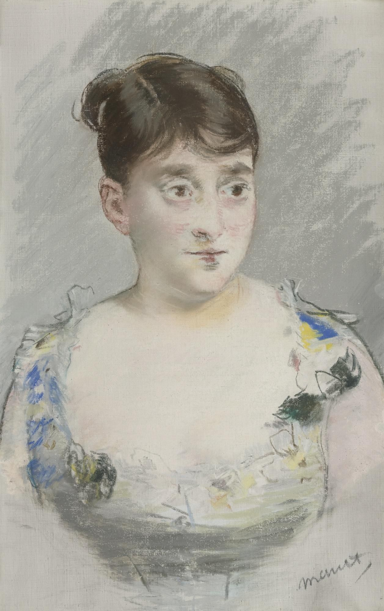 Картинки по запросу manet pastell portrait