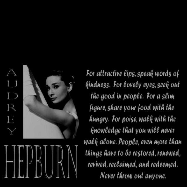 Woman Quotes Audrey Hepburn