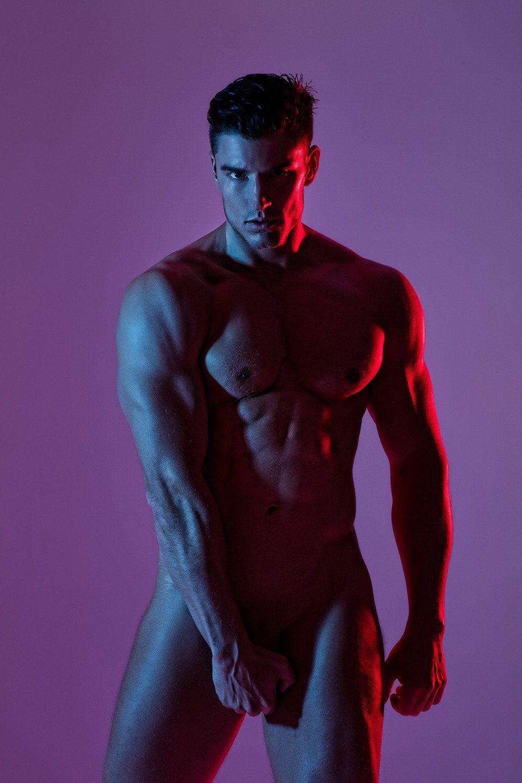 Naked male photoshoot