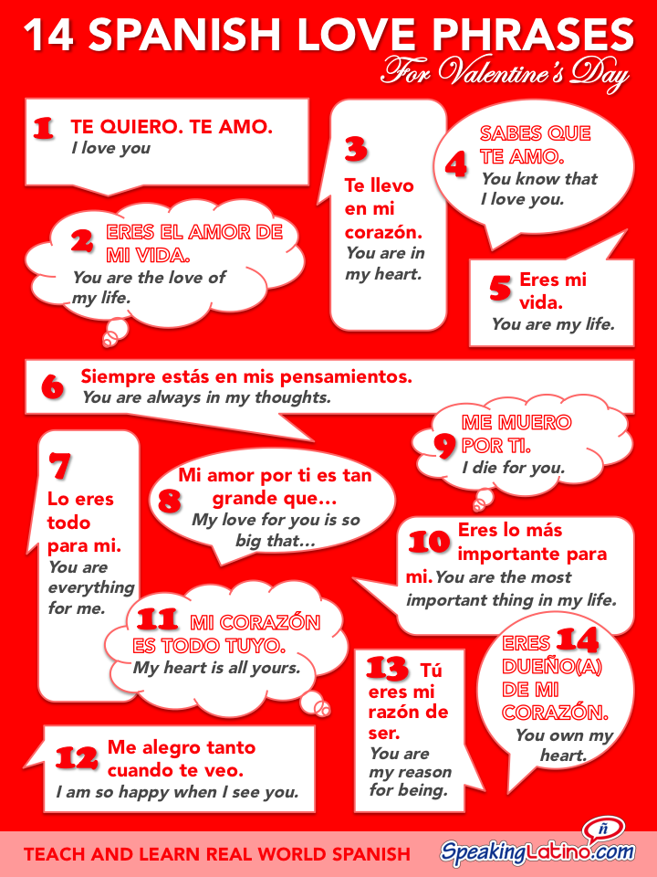 flirting quotes in spanish words dictionary pdf printable