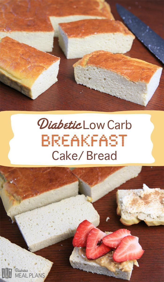 Diabetic Low Carb Breakfast Cake Recipe Low carb