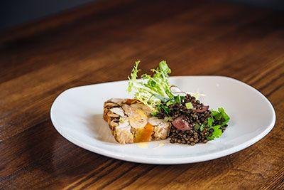 Sample Plate Food American Restaurant Kitchen Bar