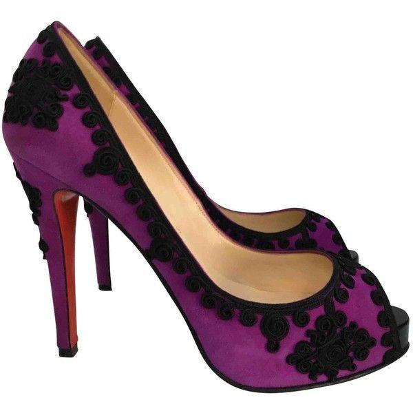 Pre-owned - Purple Heels Christian Louboutin VUunKetwt